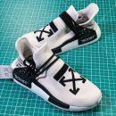 Sepatu Adidas NMD Human Race Off White