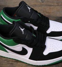 Sepatu Nike Air Jordan 1 Low Mystic Green